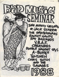 Bad Music Seminar